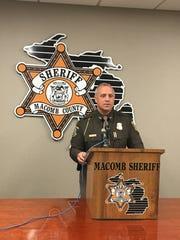 Macomb County Sheriff Anthony Wickersham