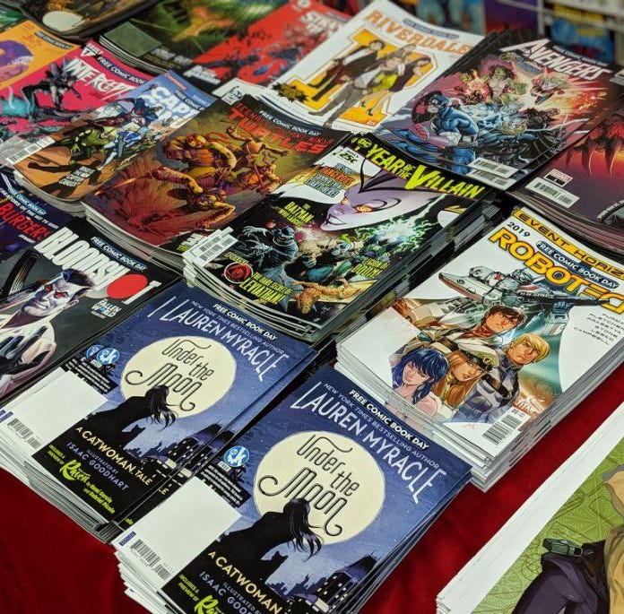 Avengers, Spider-man among issues to be given away on Free Comic Book Day