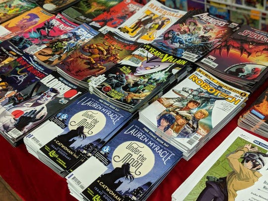 More than 1,500 comics will be given away for free Saturday at Rupp's Comics during Fremont Comic Book Day.