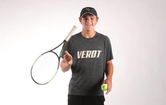 Christian Kearns,  Bishop Verot, Tennis