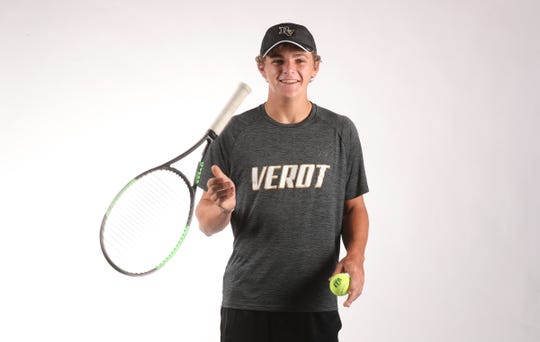 Christian Kearns,  Bishop Verot, Tennis