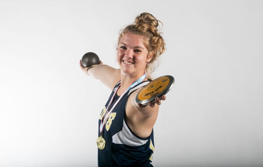 Rebekah Bergquist, Southwest Florida Christian Academy, Track & Field, Spring All Area Athletes 2019