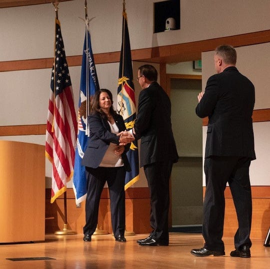"Regina ""Reggie"" Lombardo was sworn-in as the Acting Deputy Director of the agency on Wednesday, replacing retiring Deputy Director Thomas Brandon."