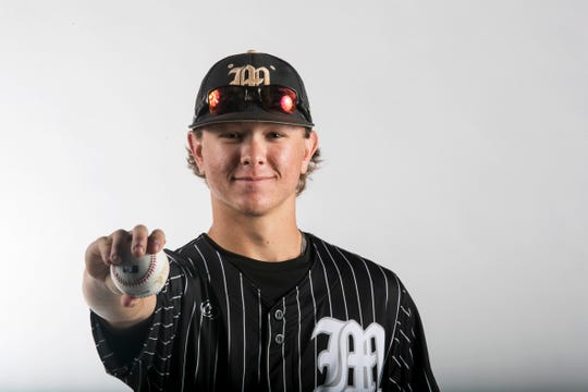 Jimmy Meredith, Mariner, Baseball, Spring All Area Athletes 2019