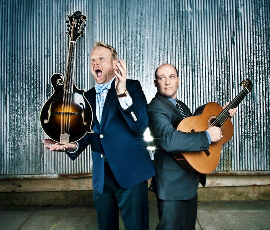 Award-winning bluegrass duo Dailey & Vincent returns to the Sunset Concert Series in Egg Harbor for an eighth straight year to perform July 28.