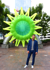 Artist Jason Hackenwerth is coming to Artisphere 2019 in Greenville.