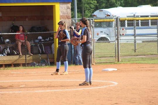 Makayla Sexton gets ready to pitch