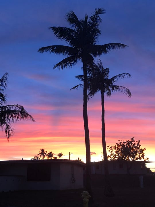 Photo of the Week winner Tamara Gumabon captured the colors of the sunset on April 29, 2019.