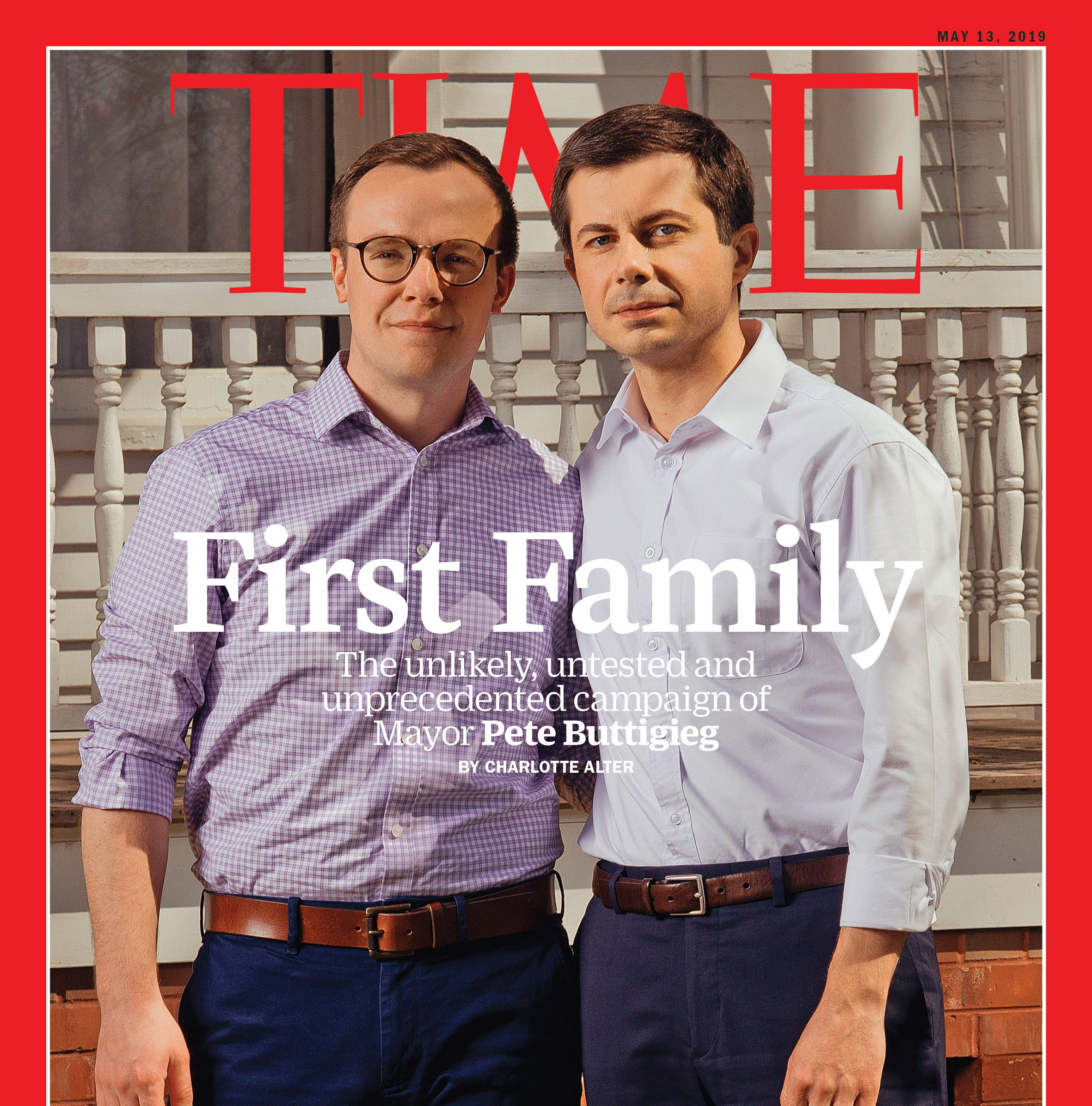 Pete Buttigieg lands on cover of Time magazine