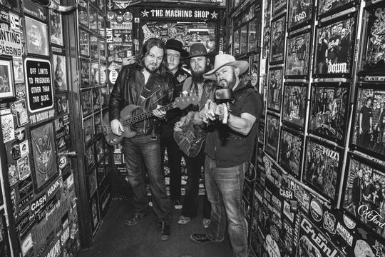 The Steel Woods country rock band.