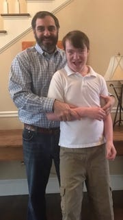 """The lack of services that are available to special needs children is staggering,"" says Jim Wilson of Columbus, pictured with son Phillip. ""Not only the lack of services but the lack of info about services that are available. You have to really scratch and claw and dig to find what services that are available."""