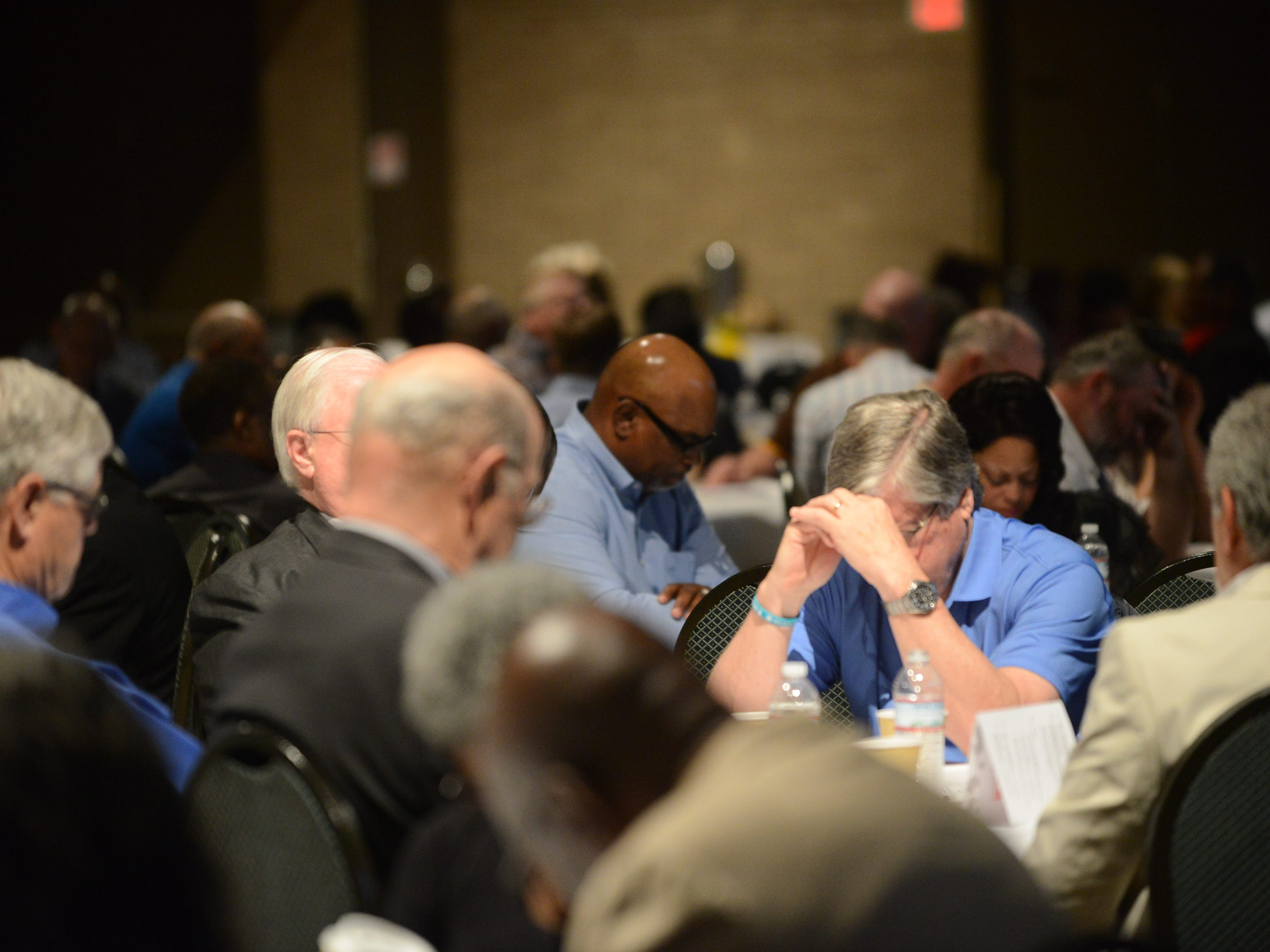 Jackson Area Ministerial Association hosted the Mayor's Prayer Breakfast to celebrate National Day of Prayer on May 2 in Jackson, Tenn.