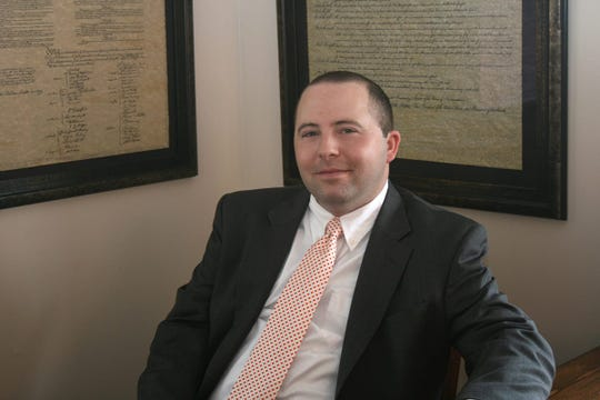 Knoxville attorney James Friauf is shown in an undated photograph.