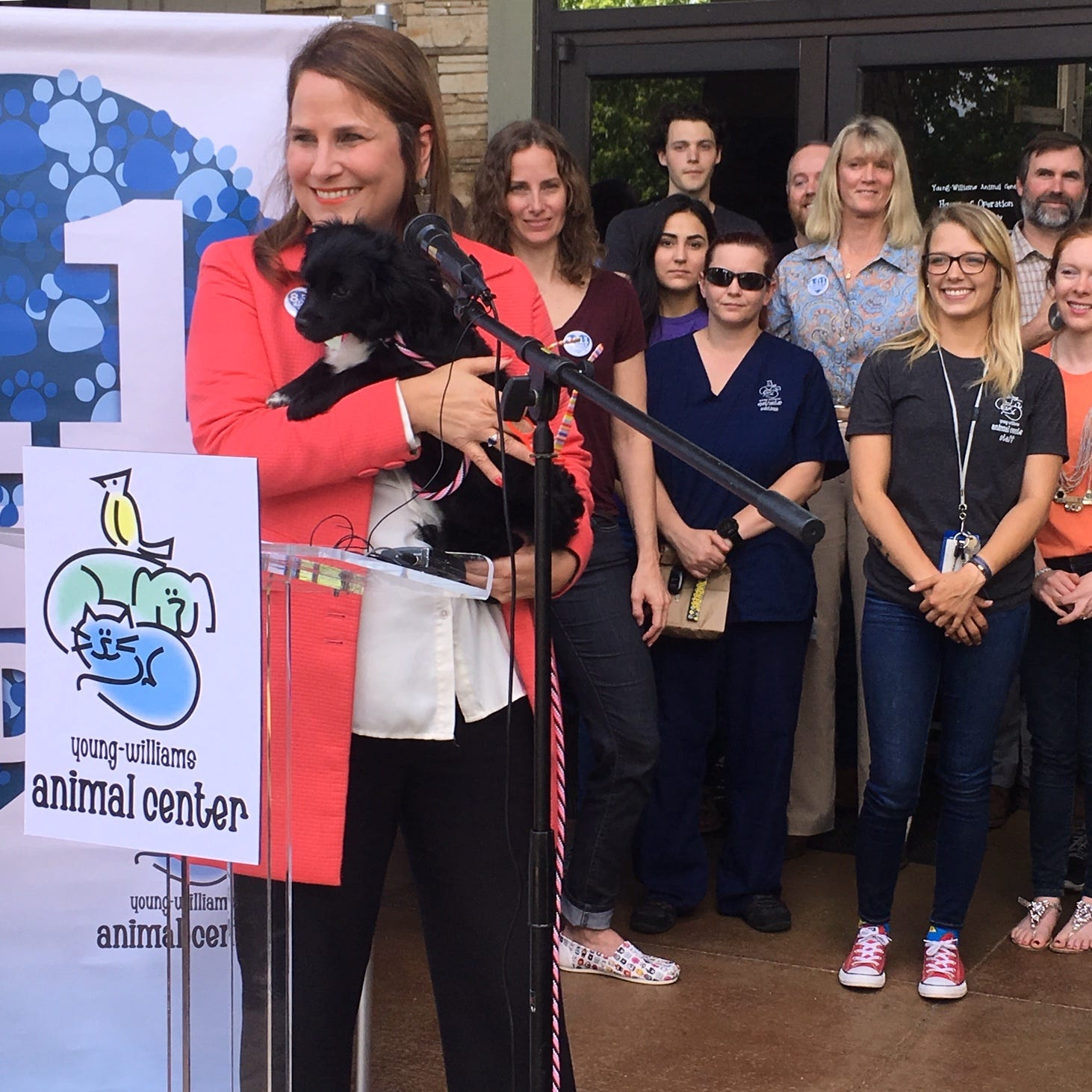 Young-Williams Animal Center achieves 'no-kill' status, saves 8,311 pets in 2018