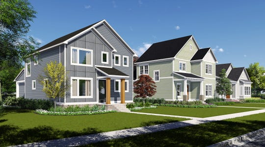 "Single-family homes are planned as part of a residential village being developed by the Carmel-based Old Town Design Group in the Discovery Park District, Purdue's $1 billion ""live-work-play"" west campus project being rolled out over the next 30 years."