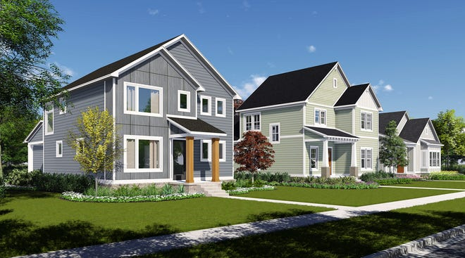 """Single-family homes are planned as part of a residential village being developed by the Carmel-based Old Town Design Group in the Discovery Park District, Purdue's $1 billion """"live-work-play"""" west campus project being rolled out over the next 30 years."""