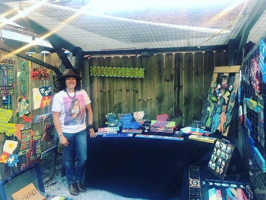Lauren Daigle vendor booth