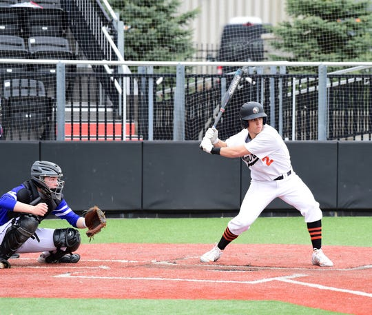Brother Rice's John Locker had a big day at the plate against CC.