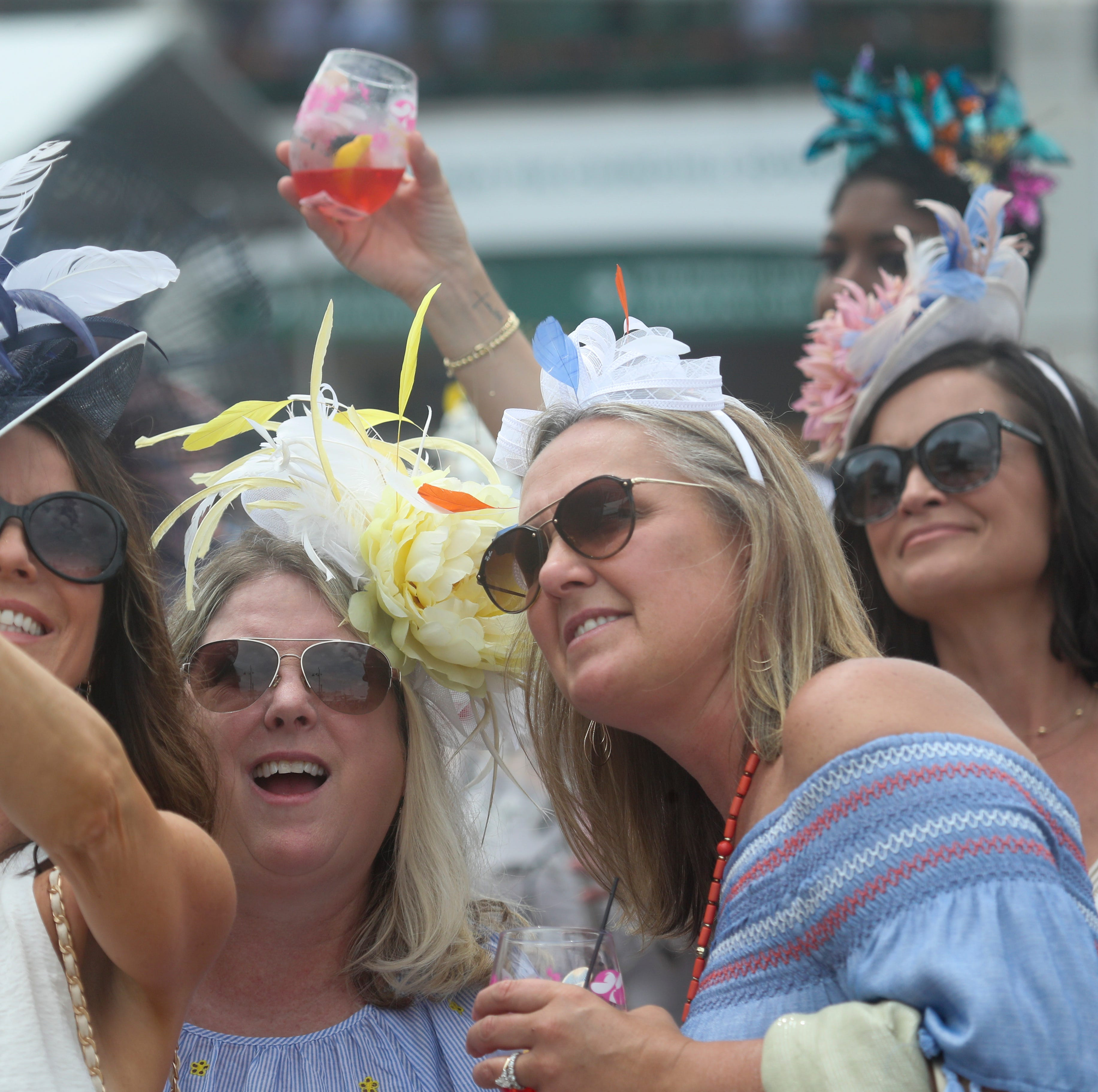 Thurby crowd weathers Mother Nature's whims for a taste of Derby Week fun