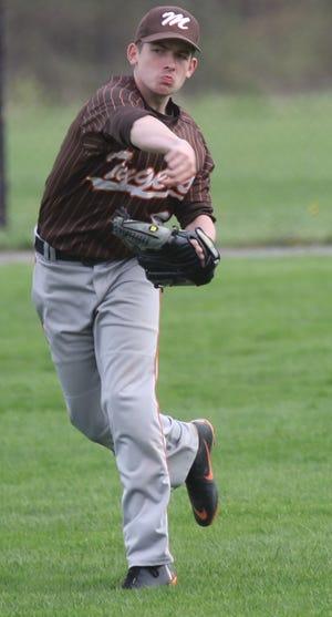 Mansfield Senior's Nick Sayers had his senior season of baseball canceled because of the coronavirus pandemic.