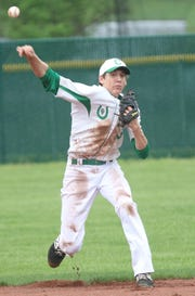Clear Fork's AJ Blubaugh had a crazy game with two hits, a 6-out save, five stolen bases and two runs scored in a 4-3 win over Pleasant on Thursday.