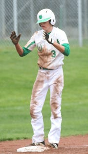 Clear Fork's AJ Blubaugh is the only Colt who was part of the 2018-19 football, boys basketball and baseball MOAC championship run.