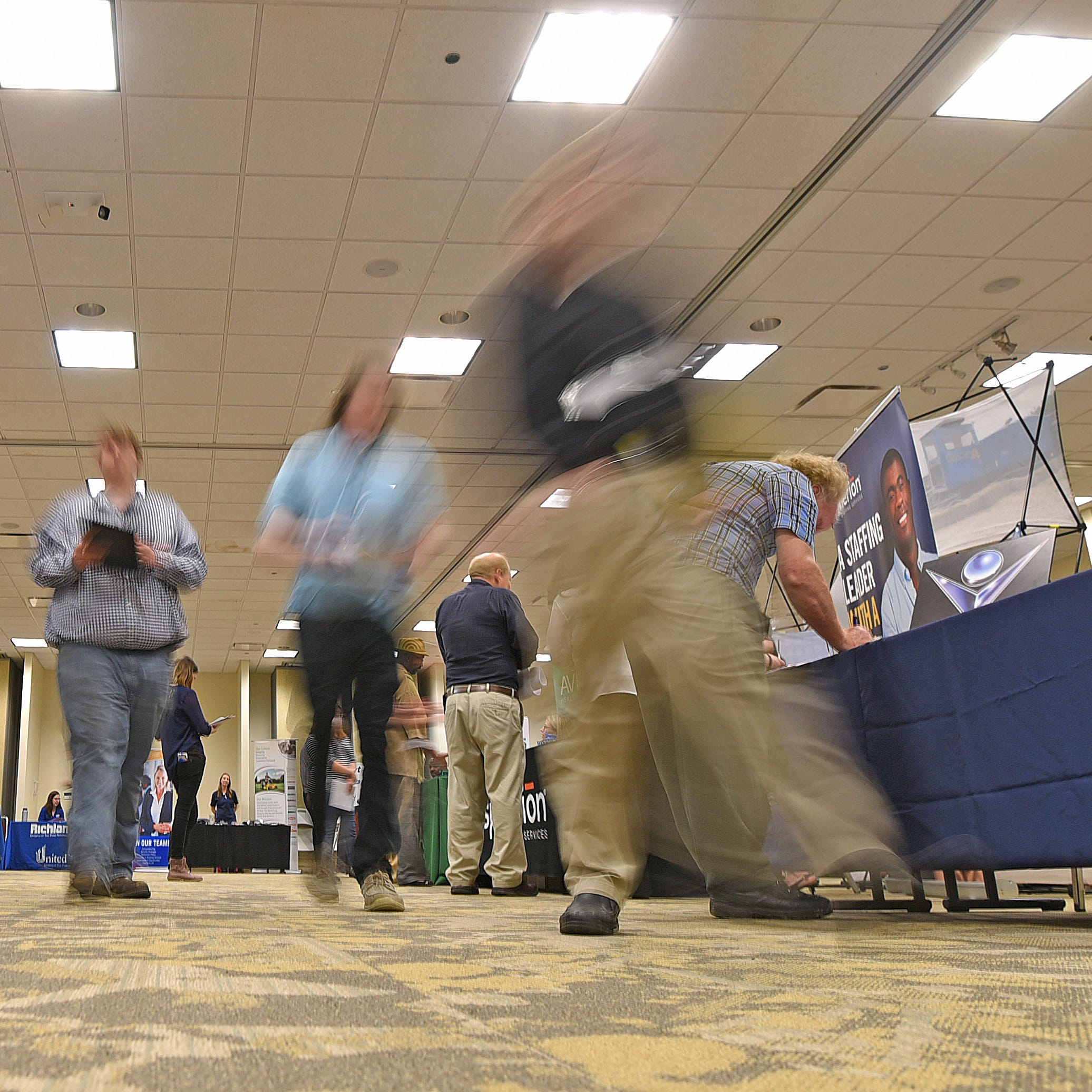 Job Fair:  90 employers actively hiring