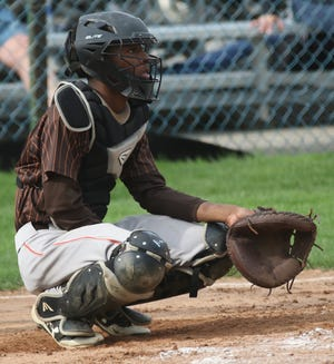 Mansfield Senior's Joshua Henley is a four-year starter behind the plate for the Tygers.