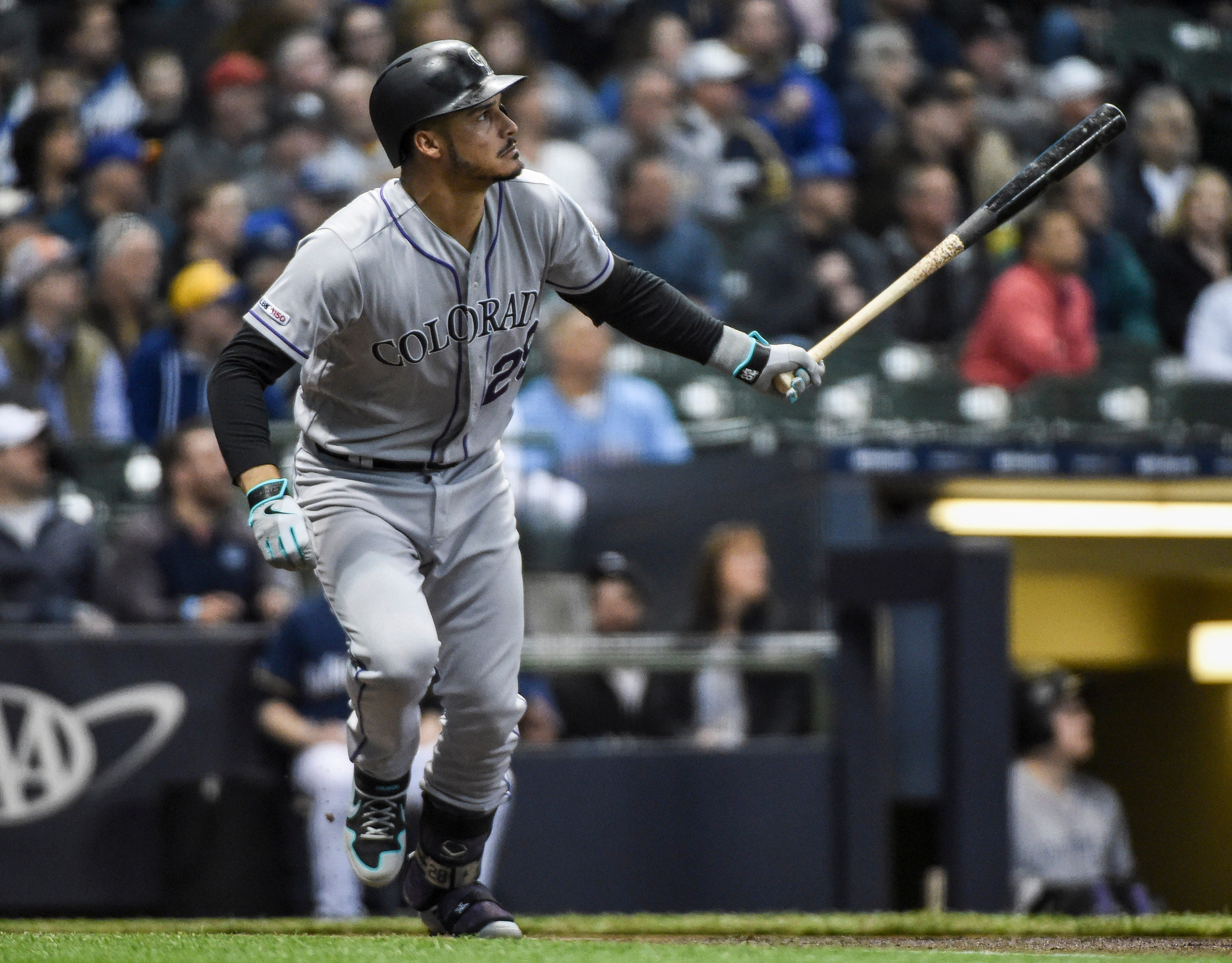888d45b7a ... Arenado definitely belongs on the list of recent 'Brewers killers;'  here's a bunch more. Including Colorado's Nolan Arenado, take a look at a  list of ...