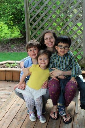Alison Sherwood is mom and cook to three kids: Corban, 7, Mara, 5, and Haddon, 4.