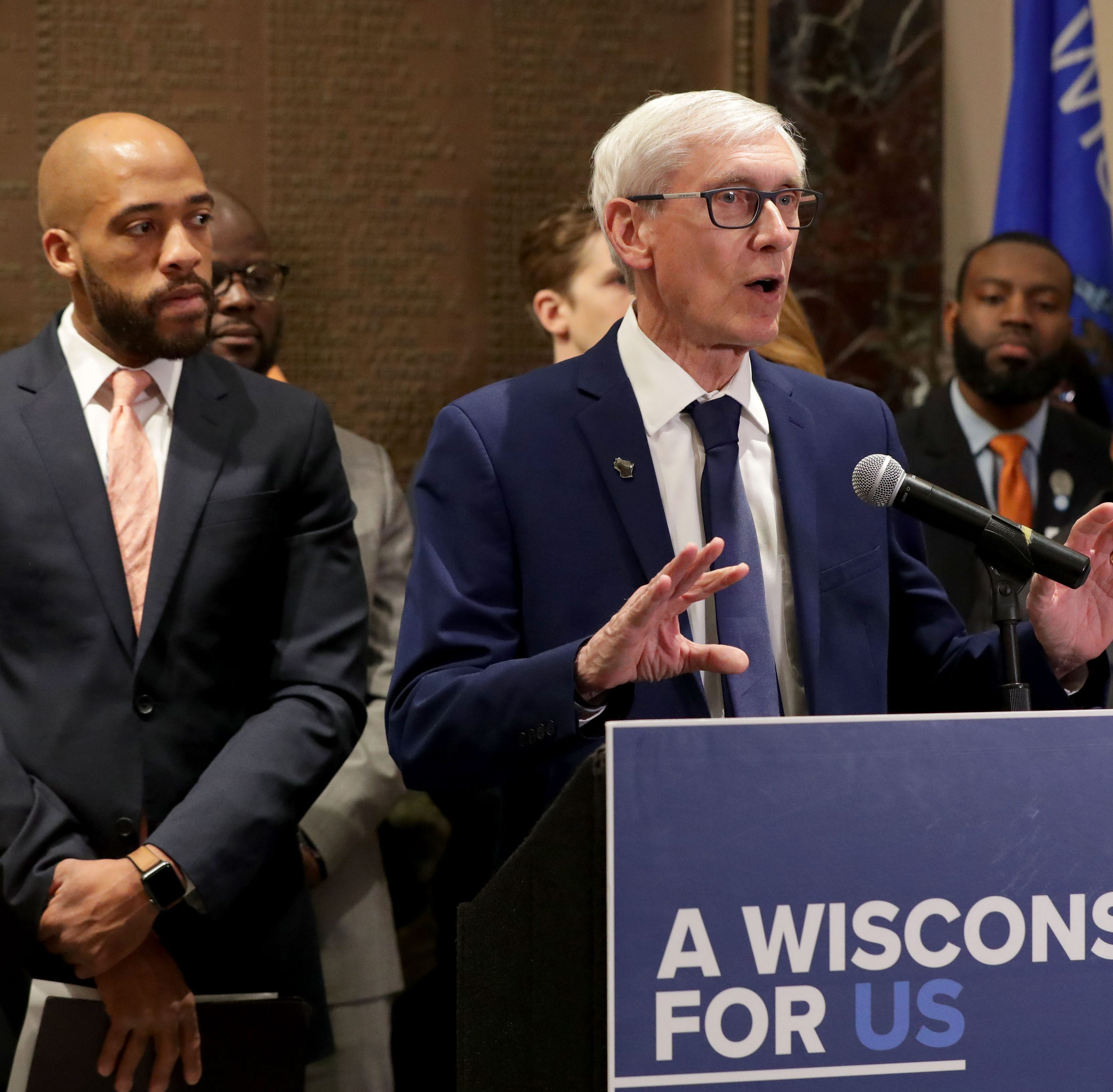 Tony Evers says he's not giving up on Obamacare expansion, slams Republicans over campaign fundraiser