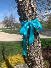 The Verhaalen family awoke Sunday, April 28 -- the morning of what would have been Ali's 15th birthday -- to find 500 blue ribbons around Menomonee Falls commemorating her life and memory.