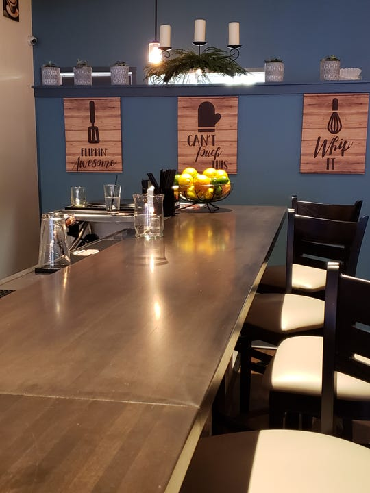 Orenda Cafe in the Silver City neighborhood has bar seating besides the dining room. The cafe is open for breakfast and lunch daily and serves brunch cocktails in addition to coffee and other beverages.