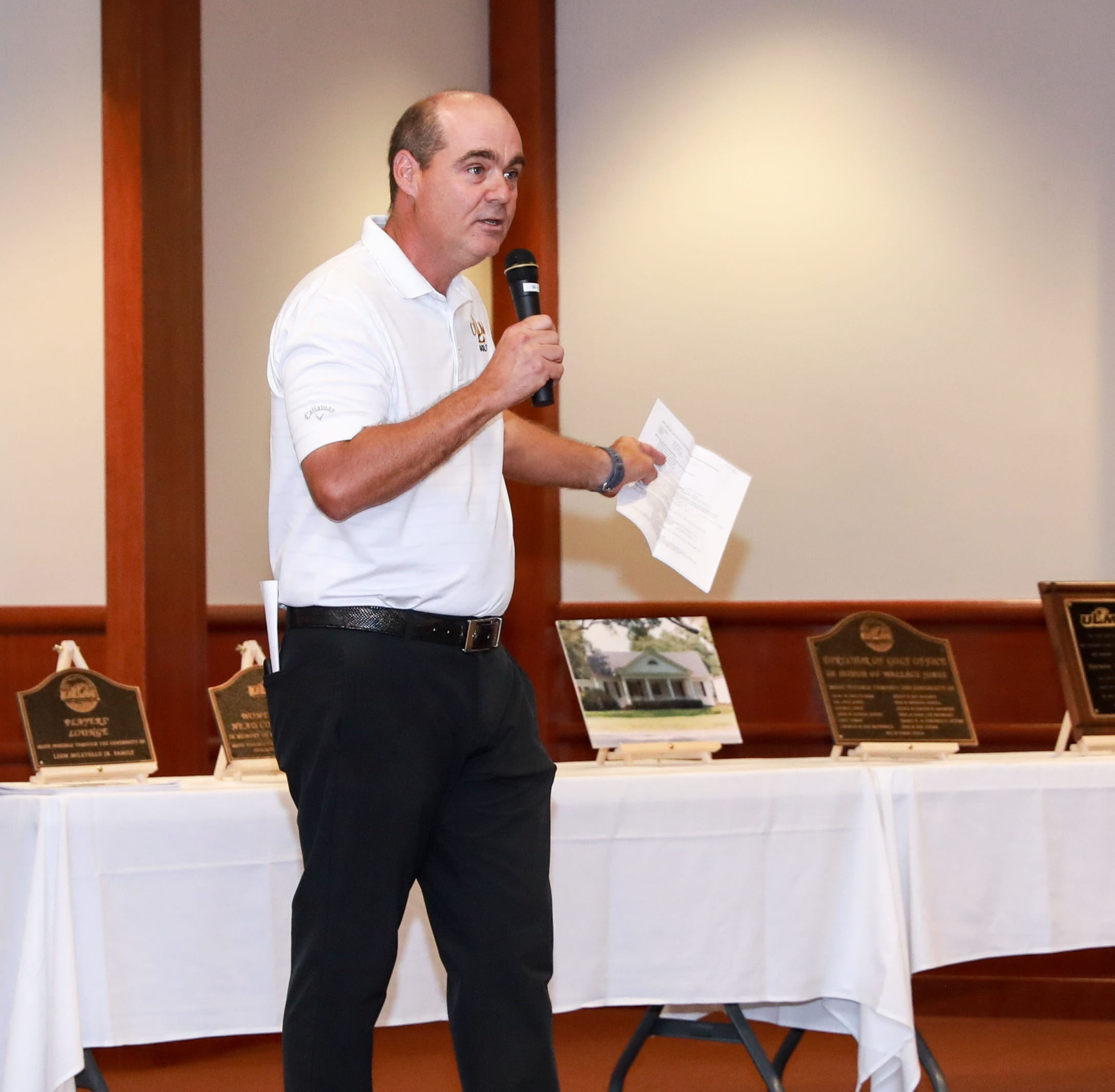 ULM golf unveils new facility, celebrates record-breaking season