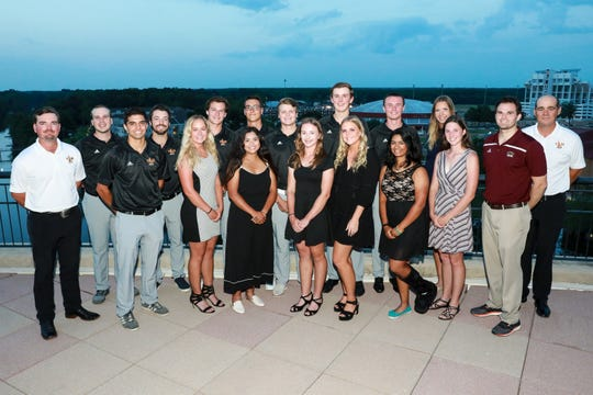 The ULM men's and women's golf teams broke several school records during the season.