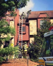Fire destroyed a Hastings Village condominium in the Long Valley section of Washington. April 27, 2019