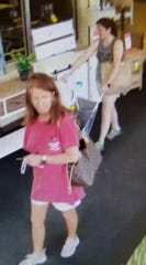 Prattville police are looking for these women as suspects in a theft.