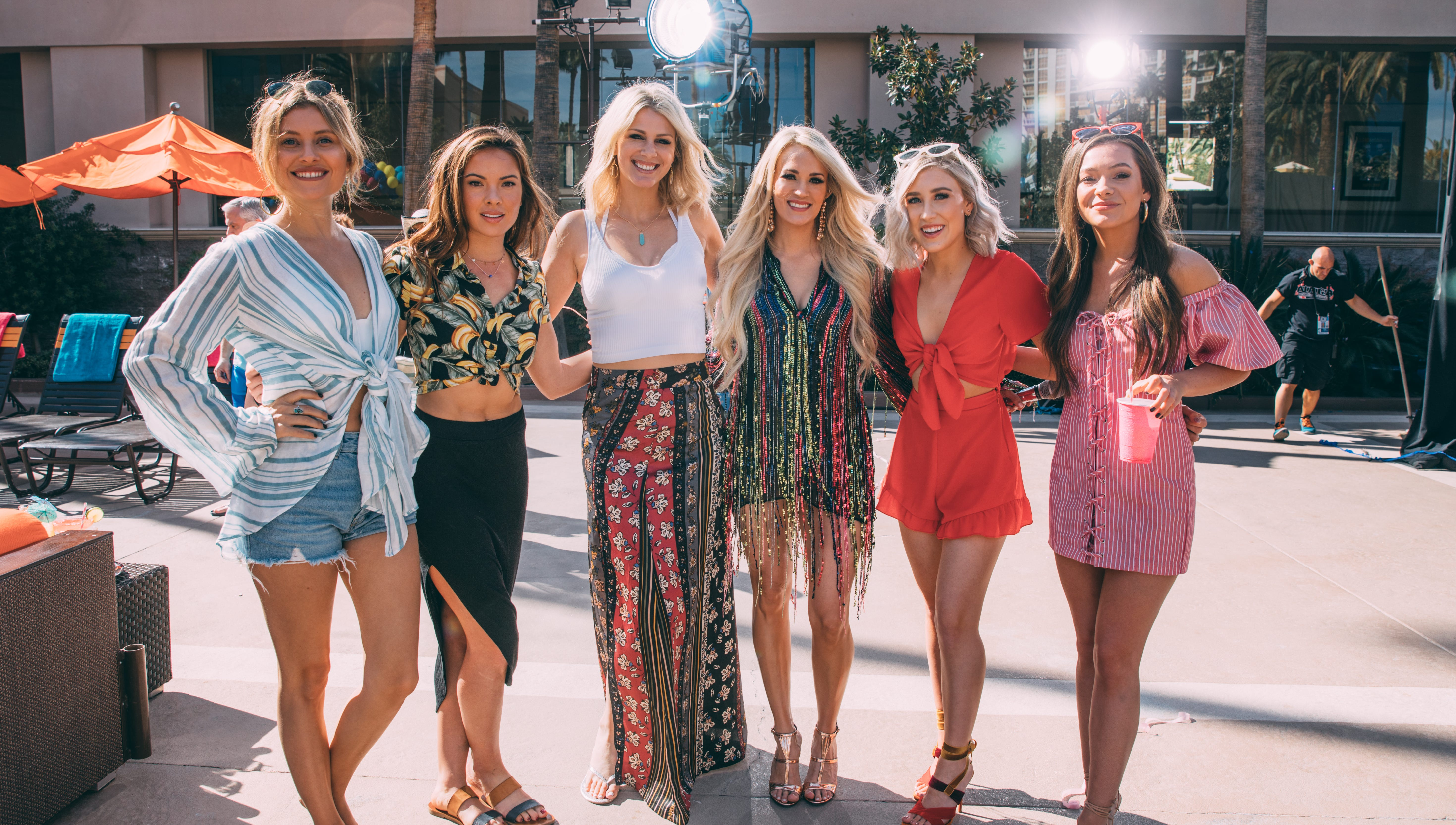 Why Carrie Underwood's 'Cry Pretty Tour 360' is all women and probably 'the chillest tour we've ever been on'