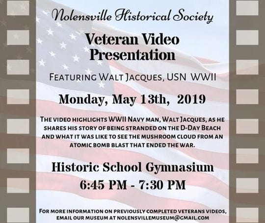 Veteran Video Presentation poster