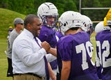 Father Ryan Catholic school Athletic Director Dr. Devin DeLaughter is the school's first African American administrator