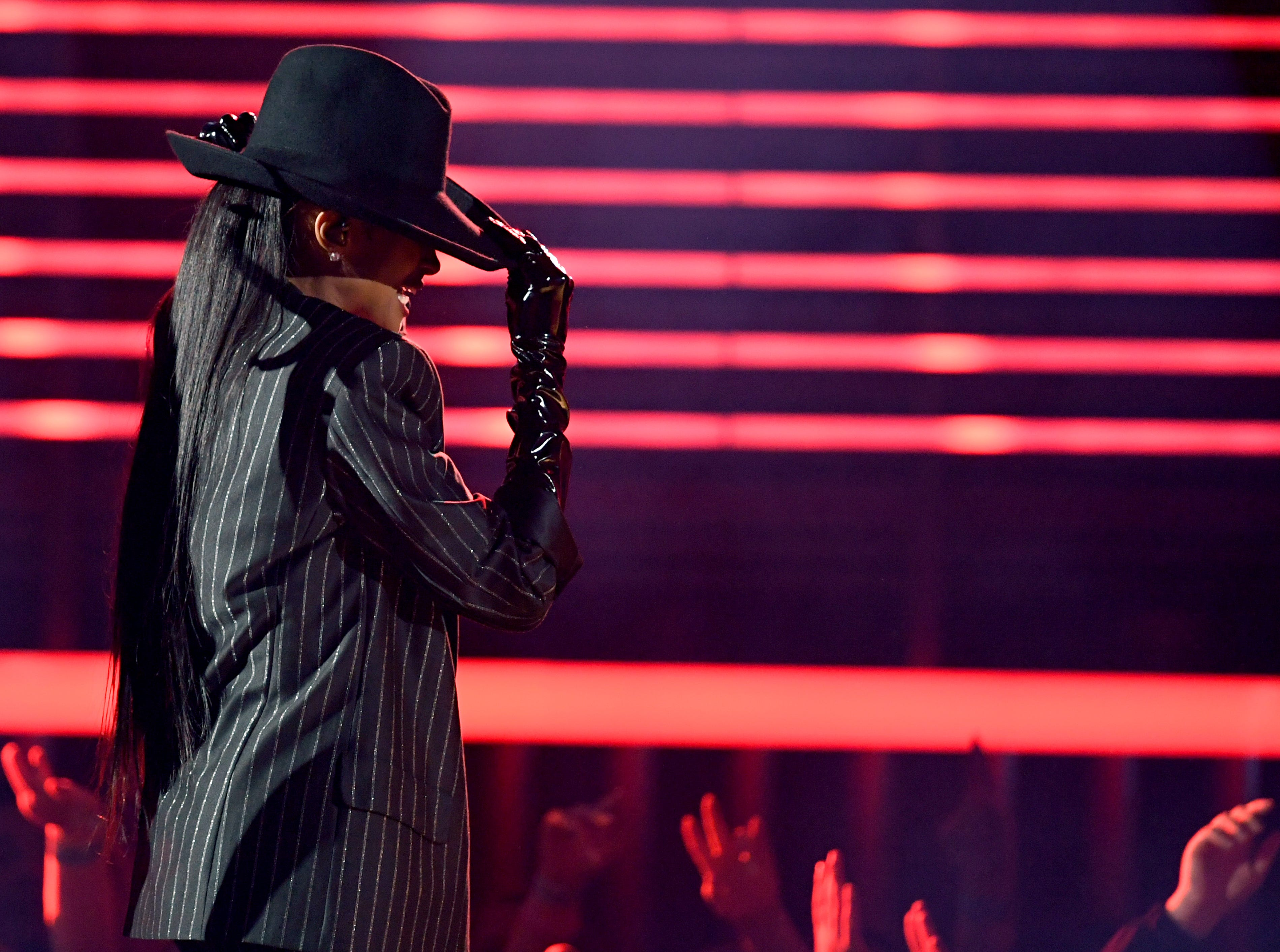 Ciara performs onstage during the 2019 Billboard Music Awards at MGM Grand Garden Arena on May 01, 2019 in Las Vegas, Nevada.