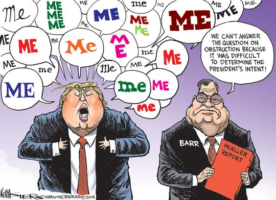 trump's 'me' intent