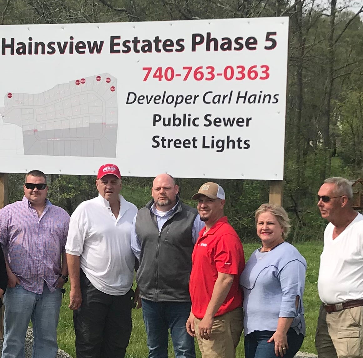 Hains begins fifth phase of Hanover housing development