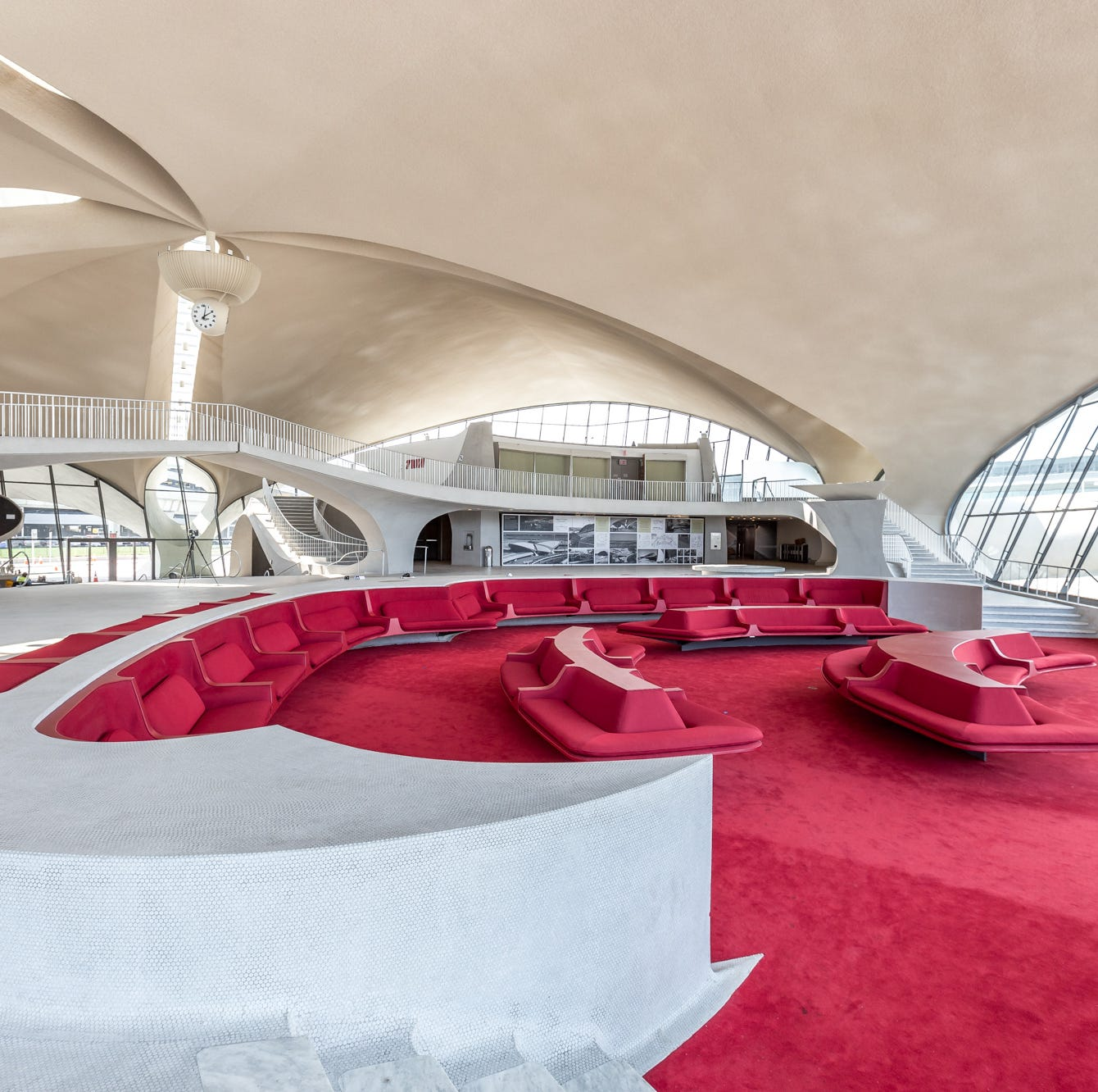 JFK Airport's stunning TWA Hotel to include Halal Guys, Playa Bowls and more in food hall