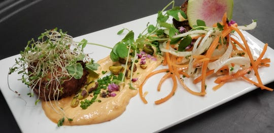Chef Todd Villani's popular crab cakes will be on the menu at Vesta in East Rutherford