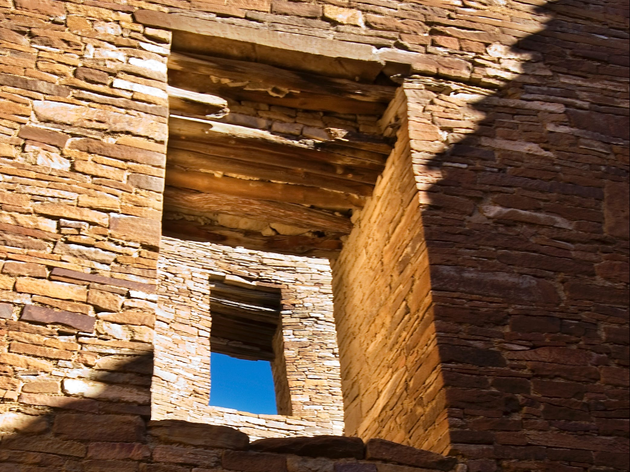 Pueblo Bonito is seen at the Chaco Culture National Historical Park in northwest New Mexico.