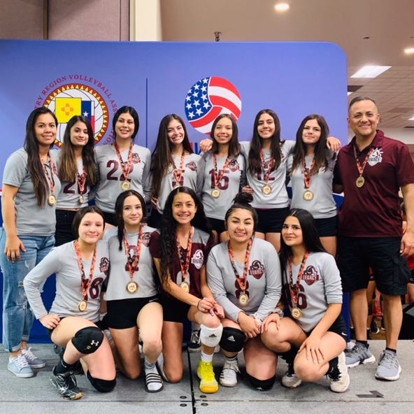 Local youth volleyball team qualifies for national tournament