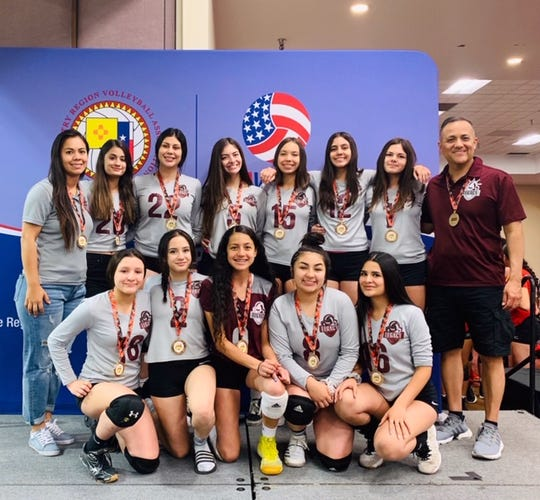 The NMLegacy Elite 15s Elite club volleyball team has earned a national Bid to the USA Girls National Championships in Indianapolis.