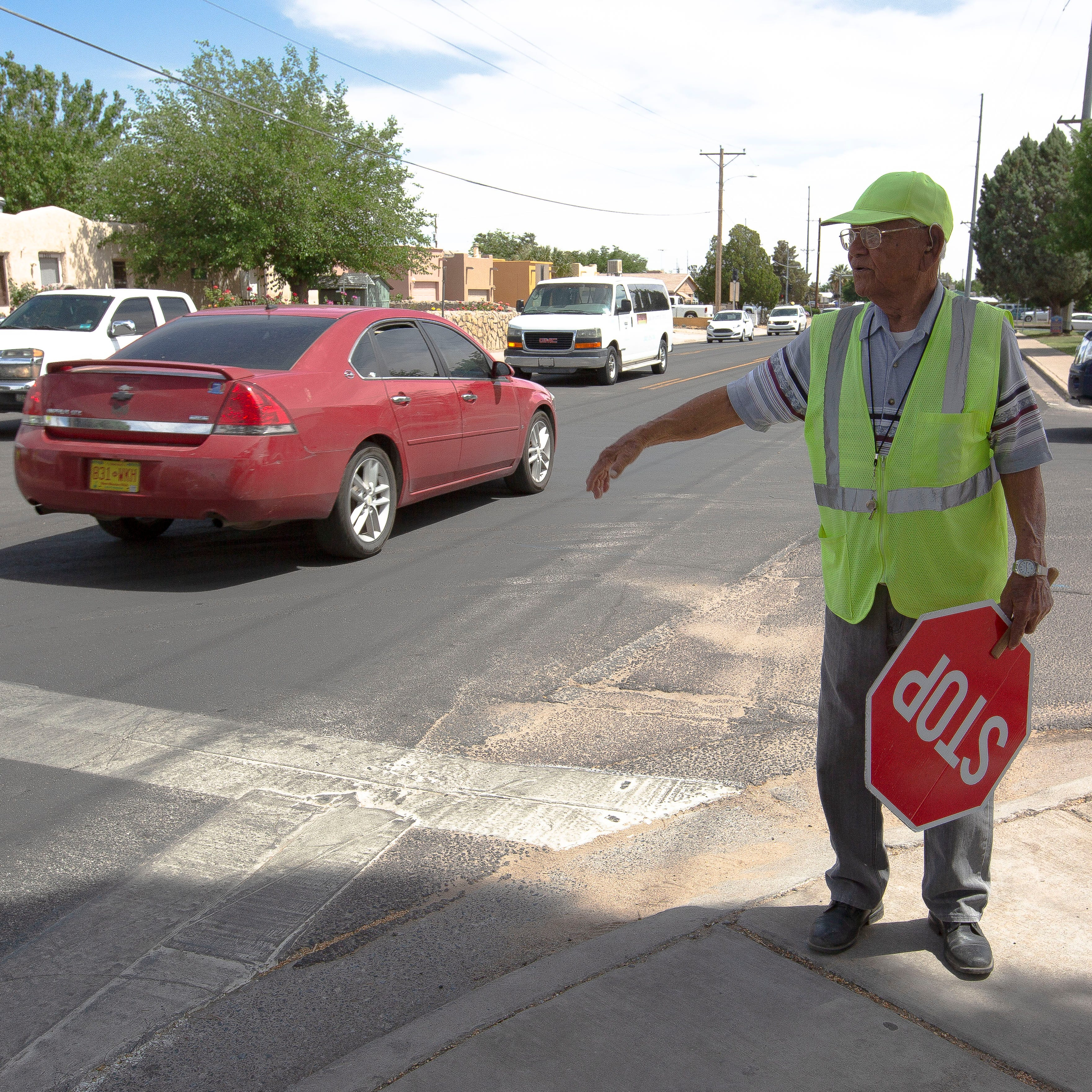 Las Cruces school crossing guard turns 99
