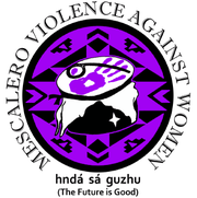 Mescalero Violence Against Women insignia